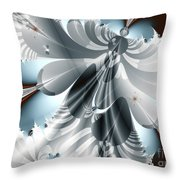A Deeper Reflection Abstract Art Prints Throw Pillow