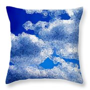 A Different Dimension Throw Pillow