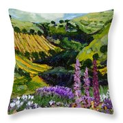A Different Garden Throw Pillow