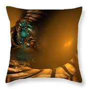 A Difficult Path... Throw Pillow
