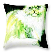 A Dionysan Goddess Of Delight Throw Pillow