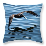 A Dip In The Pool Throw Pillow