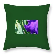 A Dip Of Purple Throw Pillow