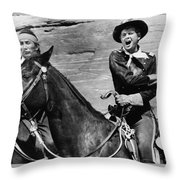 A Distant Trumpet 2 Throw Pillow