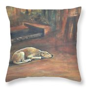 A Dog's Life. Throw Pillow