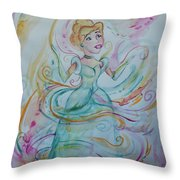A Dream Is A Wish Your Heart Makes Throw Pillow