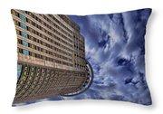 A Drifting Skyscraper Throw Pillow