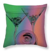 A Dry Martini Throw Pillow