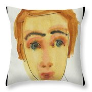 A Face In The Crowd Ventura Throw Pillow