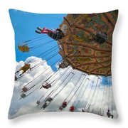 A Fair Day Throw Pillow