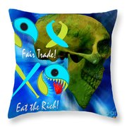 A Fair Trade Throw Pillow