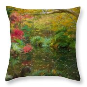A Fall Afternoon Throw Pillow