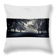 A Famous French Castle Throw Pillow