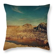 A Far Off Place Throw Pillow