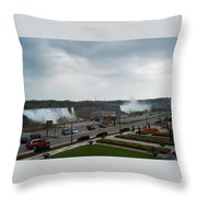 A Favorite Walkway Throw Pillow