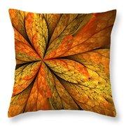 A Feeling Of Autumn Throw Pillow