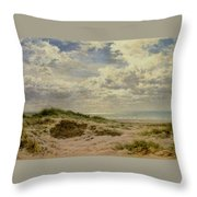 A Fine Morning On The Coast Throw Pillow