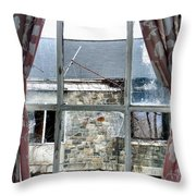 A Fine Summers Day Throw Pillow