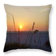 A Florida Sunset Throw Pillow