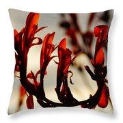 Flamingo Dancer Throw Pillow