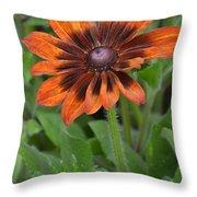 A Flower Within A Flower Throw Pillow