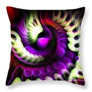 A Flurry Of Wings Throw Pillow