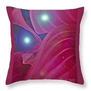 A Flutter Of Fairies Throw Pillow