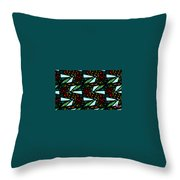 A Fly Of Sorts And Berries Throw Pillow