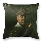 A Foggy Night In Sherwood Throw Pillow