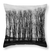 A Forest Of Trees Throw Pillow