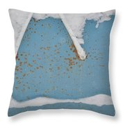 A Frame In The Mountains Throw Pillow