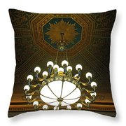 A Franklin Chandelier Throw Pillow