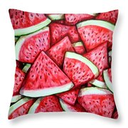 A Fresh Summer 2 Throw Pillow