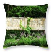 A Garden Far Away Throw Pillow
