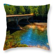 A Gathering Of Faeries Throw Pillow