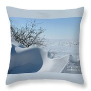 A Gentle Beauty Throw Pillow