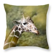 A Gentle Giant Throw Pillow