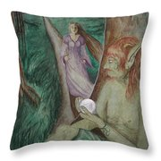 A Gift For His Lady Throw Pillow by Carrie Viscome Skinner