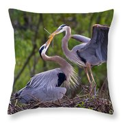 A Gift For The Nest Throw Pillow