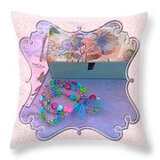 A Gift With Love Throw Pillow