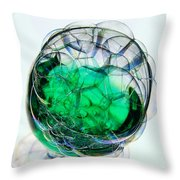 A Glass Of Bubbly Throw Pillow