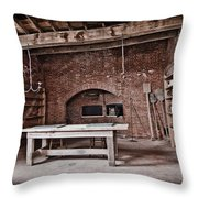 A Glimpse Into Our Past Throw Pillow