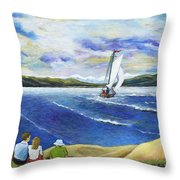 A Glimpse Of Glory Throw Pillow