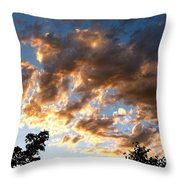 A Glorious Point In Time Throw Pillow