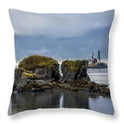 A Good Day Of Fishing Throw Pillow