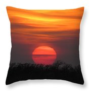 A Good End To The Day Throw Pillow