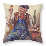 A Good Vintage Throw Pillow
