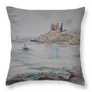A Goodbye To Escala  Throw Pillow