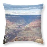 A Grand Canyon Throw Pillow
