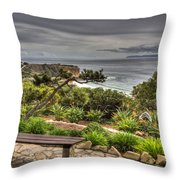 A Grand Vista Throw Pillow
